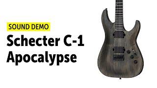 Schecter C-1 Apocalypse - Sound Demo (no talking)