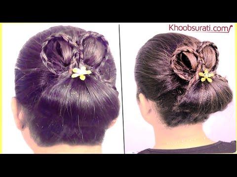 Chinese Bun HairStyle By KhoobSurati.com