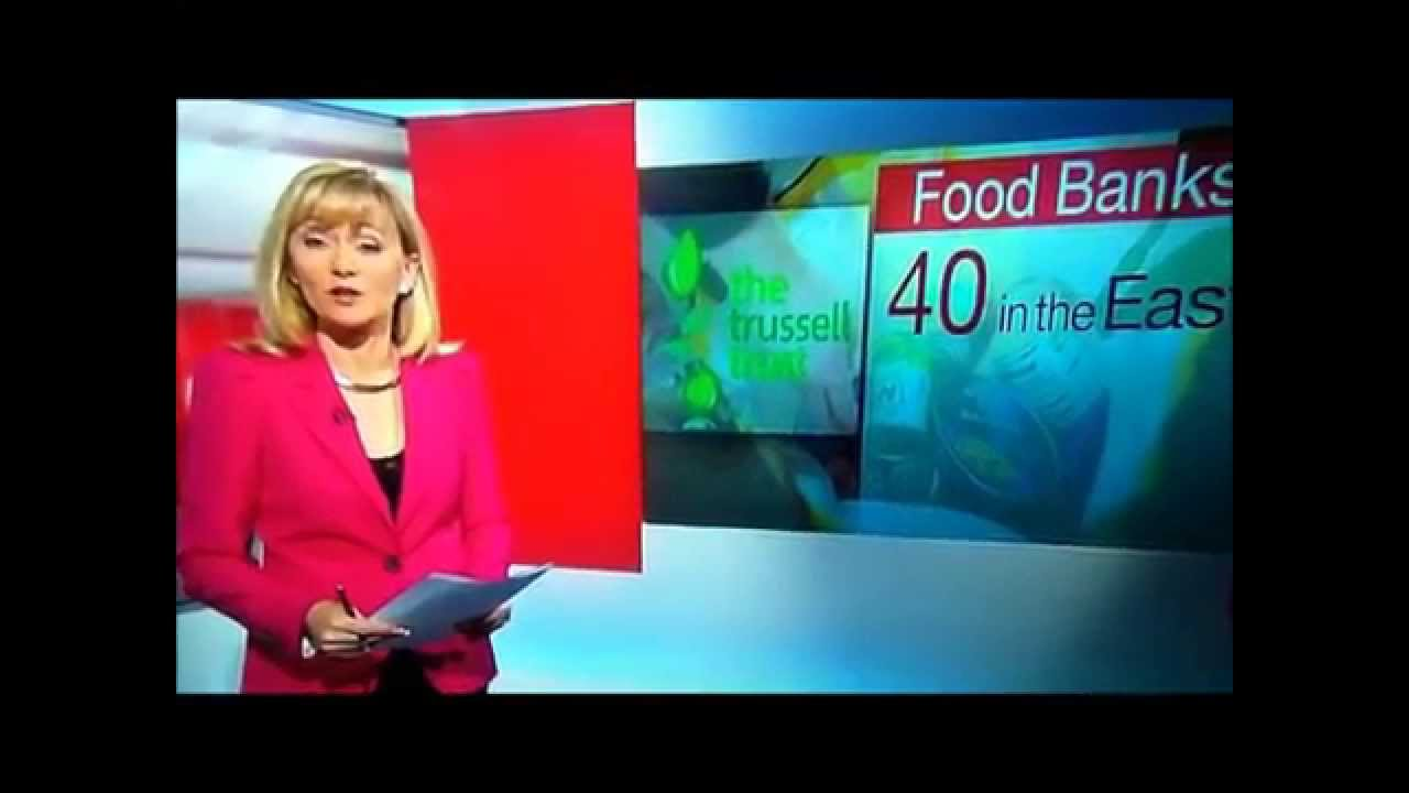 Bedford Foodbank On Look East 20 4 14