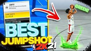 BEST JUMPSHOT ON NBA 2K21! BEST GREEN LIGHT JUMPSHOTS FOR ALL BUILDS NBA 2K21! BEST BUILD NBA 2K21