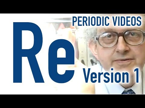 Rhenium (version 1) - Periodic Table of Videos