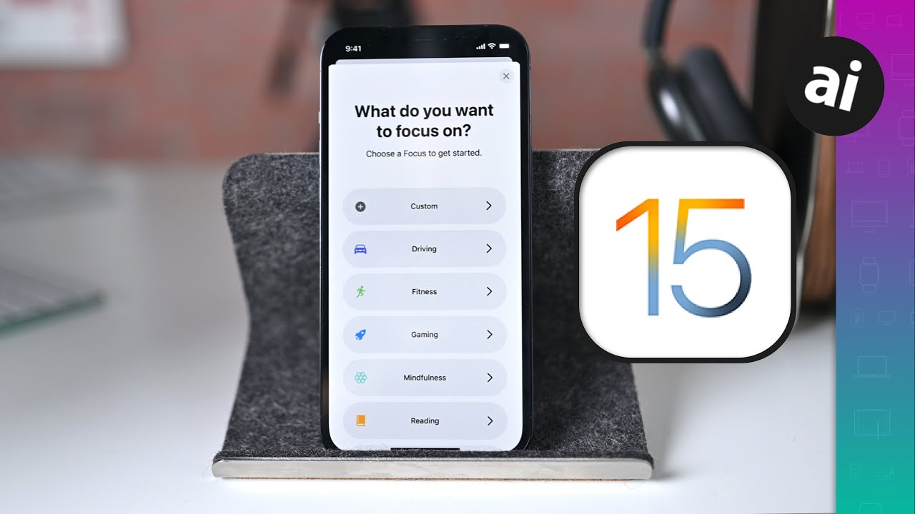 The Best New Features Available NOW in iOS 15