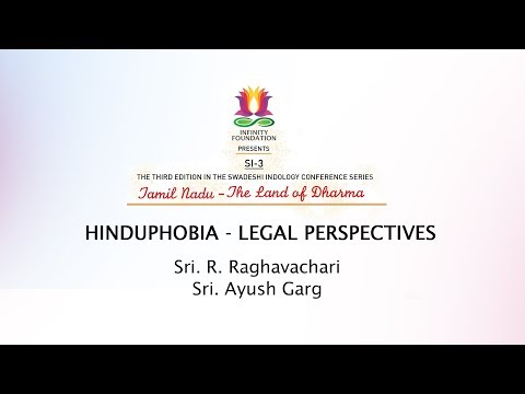 Panel Discussion on Hinduphobia - Legal Perspectives - Panel