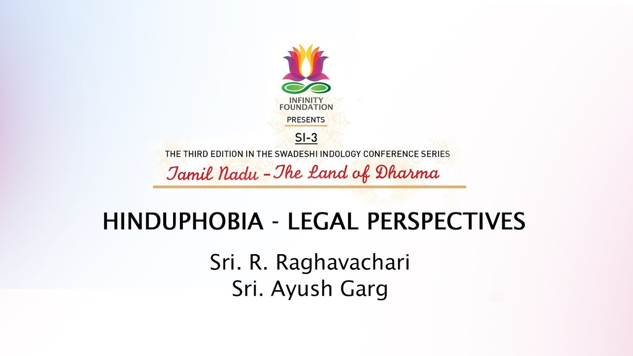 Image result for Panel Discussion on Hinduphobia - Legal Perspectives - Panelists. Sri Ragavachari Sri Ayush Garg pictures images photos