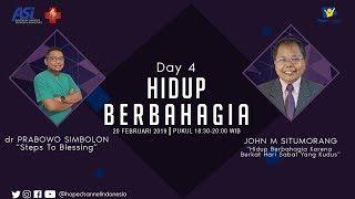 KKR NET ASi 2019 DAY 4 | Hidup Berbahagia Karna Berkat Hari Sabat