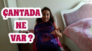 Okul Çantamda Neler Var ? #myschoolbag