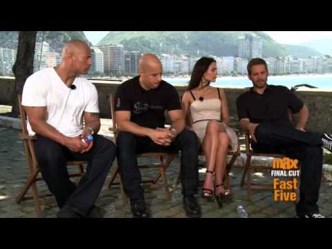 Final Cut: Fast Five Cast in Rio - Part 1 (Cinemax)