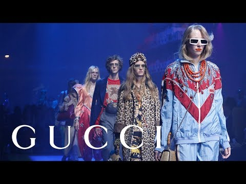Gucci Spring Summer 2018 Fashion Show: Full Video