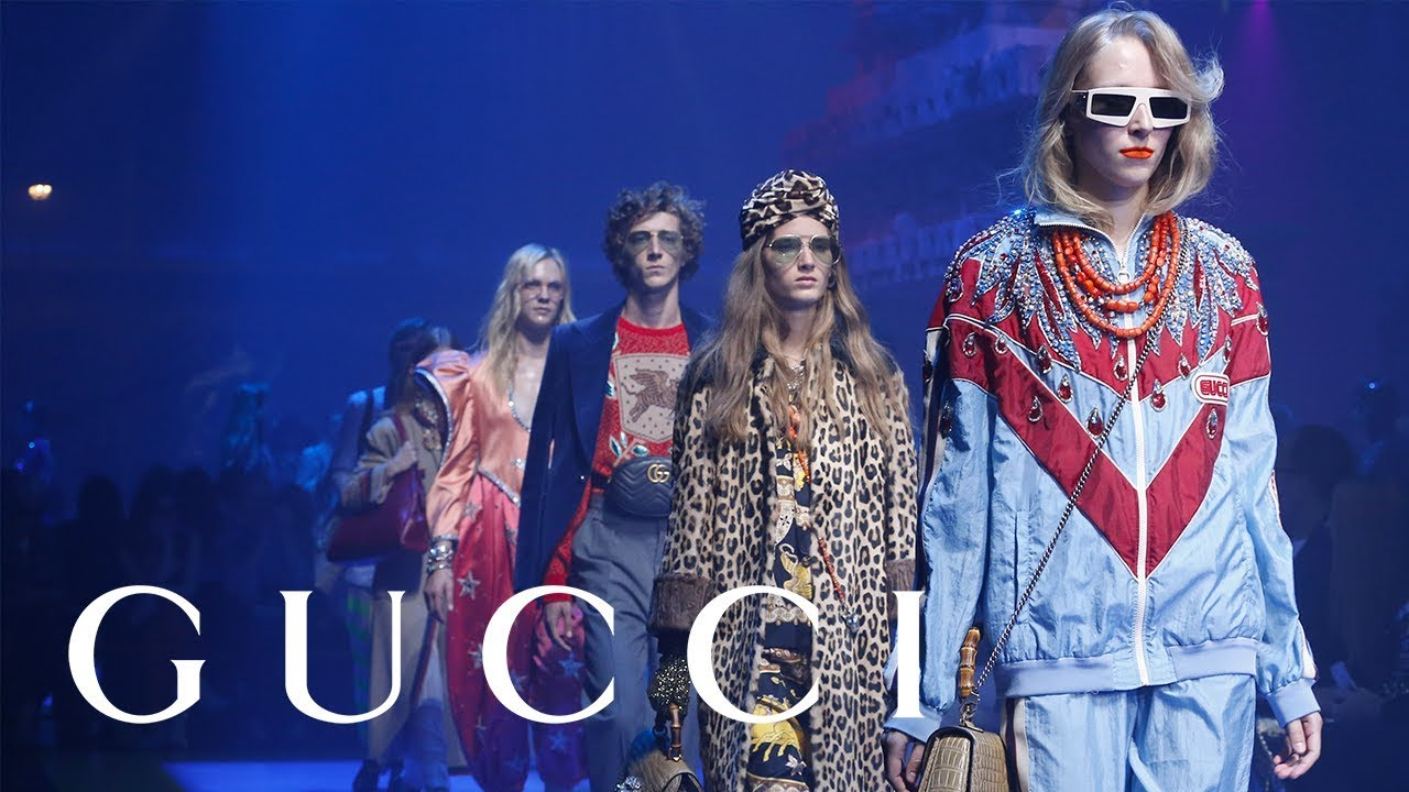 30d63a0944cd5a Gucci Spring Summer 2018 Fashion Show  Full Video - YouTube