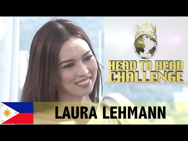 WINNING ANSWER! MISS WORLD 2017 Head to Head Challenge Miss PHILIPPINES Laura Lehmann (HD)