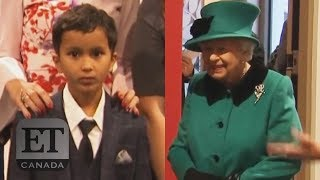 Queen Elizabeth Scares Away Child