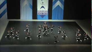 Cheerleading .Junior Hip Hop Russian Federation Oriks.