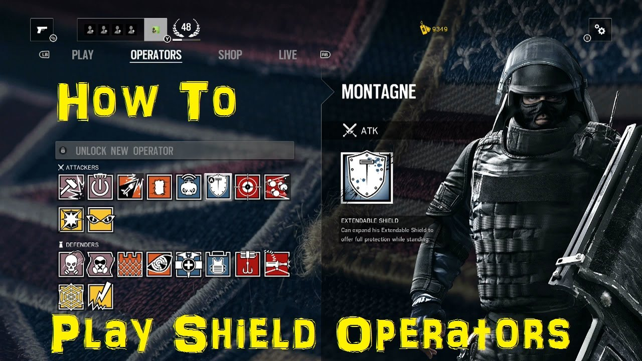 How To: Play (& Kill) Shield Operators - Rainbow 6 Siege Guide