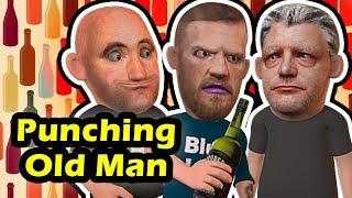 Conor McGregor Attacks an Old Man
