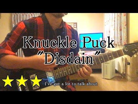 Knuckle Puck - Disdain (Guitar Cover , Lyrics)