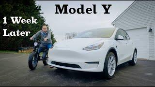 Model Y - 1 Week Later