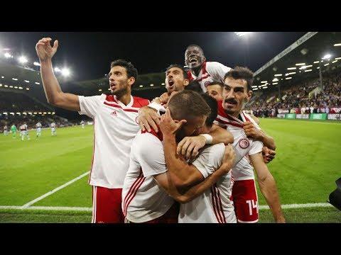 Highlights: Μπέρνλι - Ολυμπιακός 1-1 / Highlights: FC Burnley - Olympiacos 1-1
