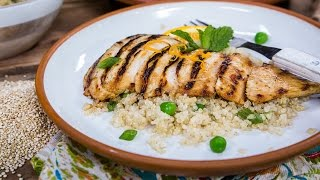 How To Make Chicken Breasts Grilled With Orange-ginger Glaze