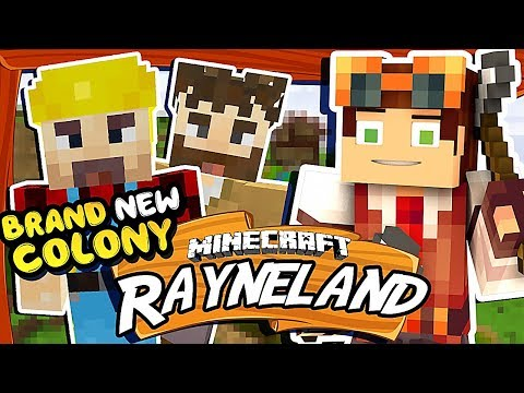 Building a Colony! • Rayneland: Simple Life 2 Modded Survival in Minecraft! [#1]