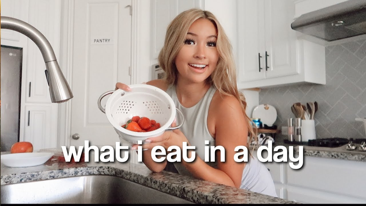 What I Eat In A Day | Realistic & YUMMY/HEALTHY teenager