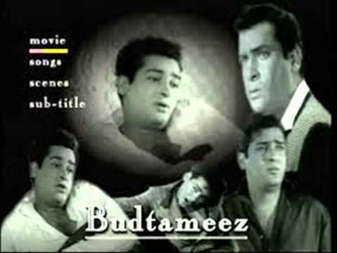 Haseen Ho Tum Khuda Nahin Ho - Budtameez (1966) KARAOKE Song By Prabhat Kumar Sinha