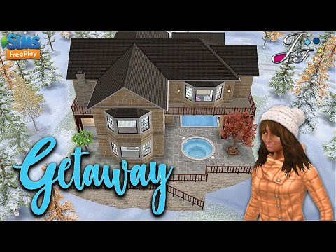 Sims FreePlay ❄️⛄️| GETAWAY LAKE HOUSE |☃️❄️ By Joy.