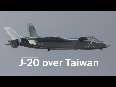 China Is Threatening to Fly Its J-20 Stealth Fighter over Taiwan