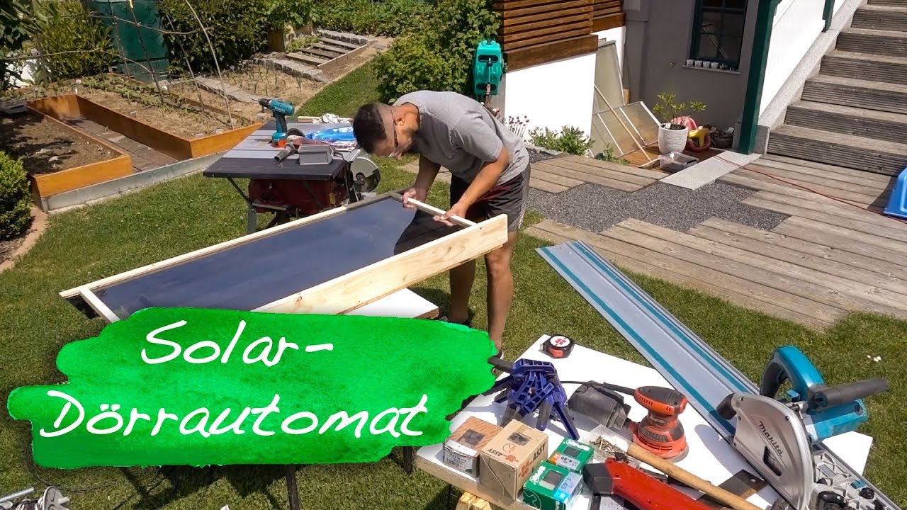 solar d rrautomat selber bauen youtube. Black Bedroom Furniture Sets. Home Design Ideas