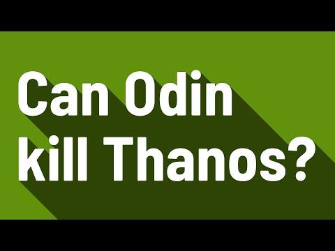 Can Odin kill Thanos?