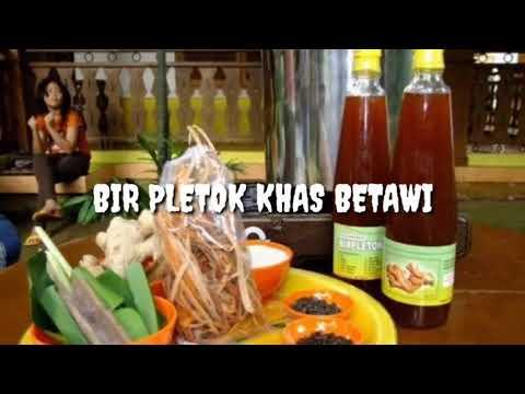 Minuman Khas Betawi Bir Pletok Setu Babakan Kel Srengseng Sawah