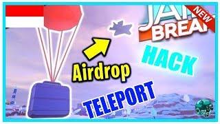 AIRDROP TELEPORT HACK - ROBLOX JAILBREAK ✅WORKING!!| - ROBLOX INDONESIA