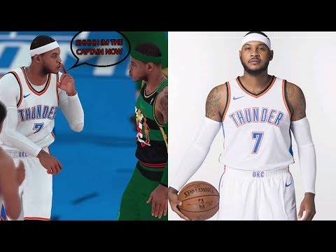NBA 2K18 MYTEAM WEEK 2 CHALLENGE #5 : NEW LOOK THUNDER : DROWNING OUT THE THUNDER!! PS4 PRO GAMEPLAY