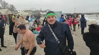 Клуб Моржи Одессы купался на Крещение Господня 2020
