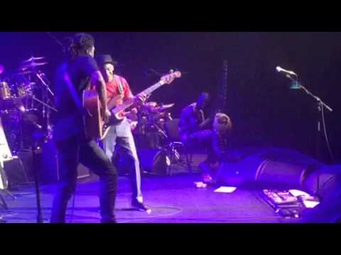 Herve Samb with Marcus Miller at the Olympia | Paris | 2016