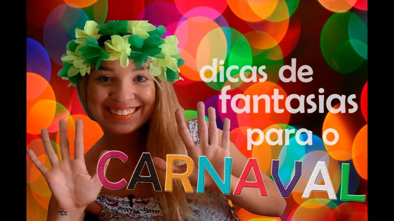 4c94c4fae 10 dicas de fantasias de carnaval usando suas próprias roupas - YouTube