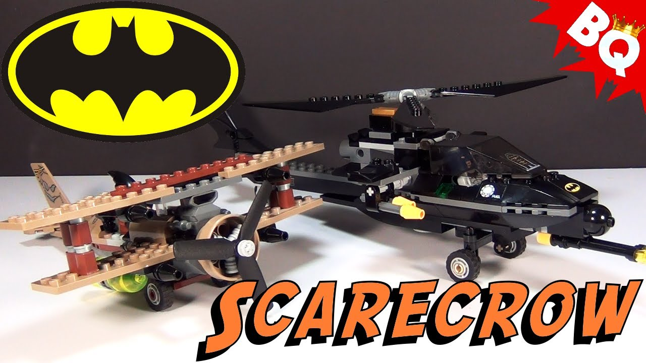 LEGO Batman Batcopter The Chase for Scarecrow 7786 Build ...
