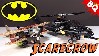 LEGO Batman Batcopter The Chase for Scarecrow 7786 Build & Review. ...