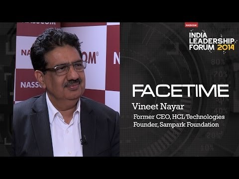 Vineet Nayar, Former CEO, HCL Technologies || Founder Sampark Foundation