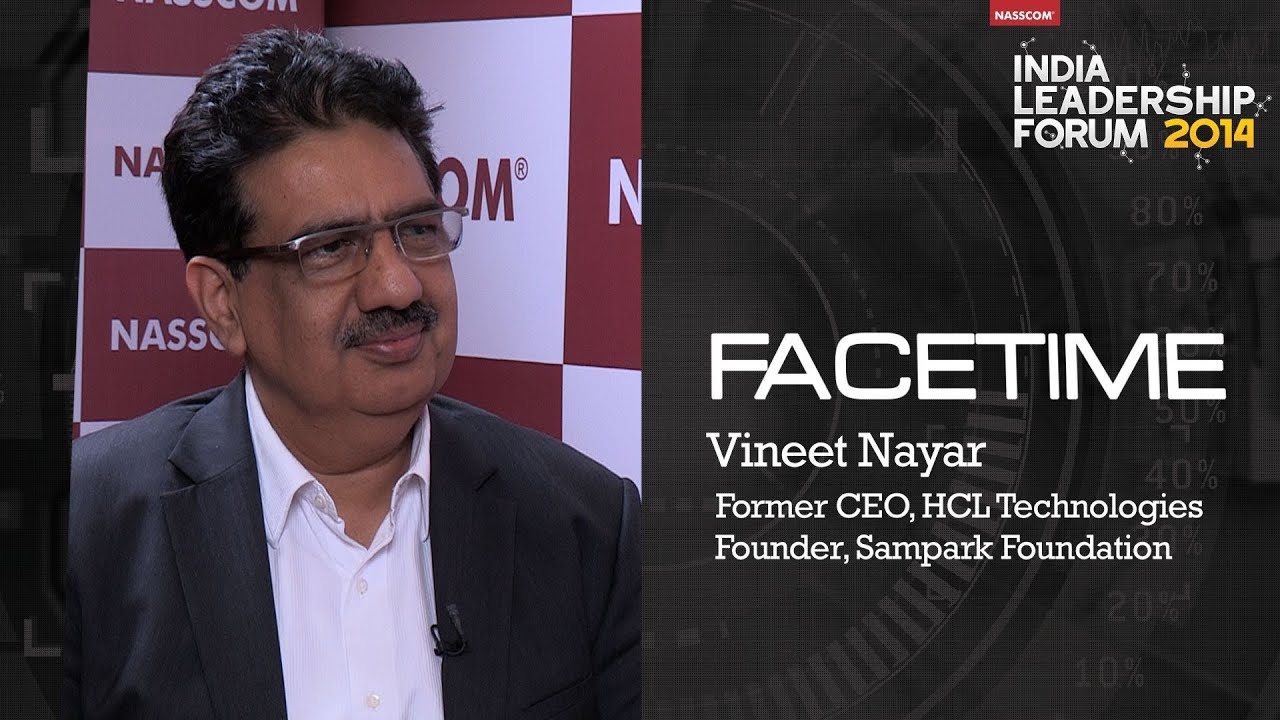 vineet nayar Vineet and anupama nayar, founders of sampark foundation in india, which  boasts a $100 million outlay funded entirely by the nayars and.