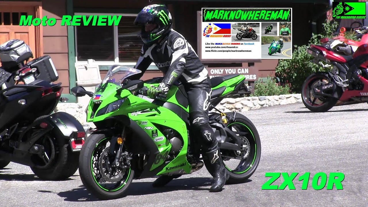 kawasaki ninja zx10r with yoshimura exhaust - canyon ride & my