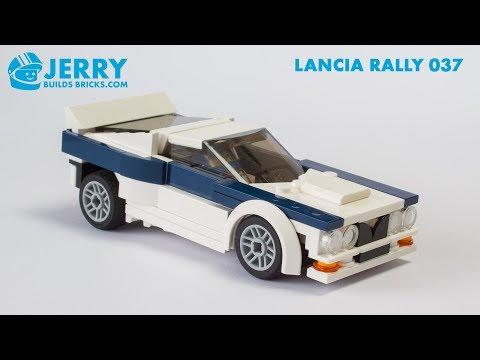 LEGO Lancia Rally 037 instructions (MOC #105)
