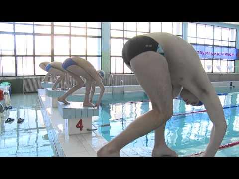 Соревнование в бассейне ко Дню Победы
