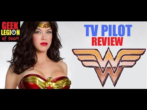 WONDER WOMAN ( 2011 Adrianne Palicki ) TV Pilot Episode 1 Review