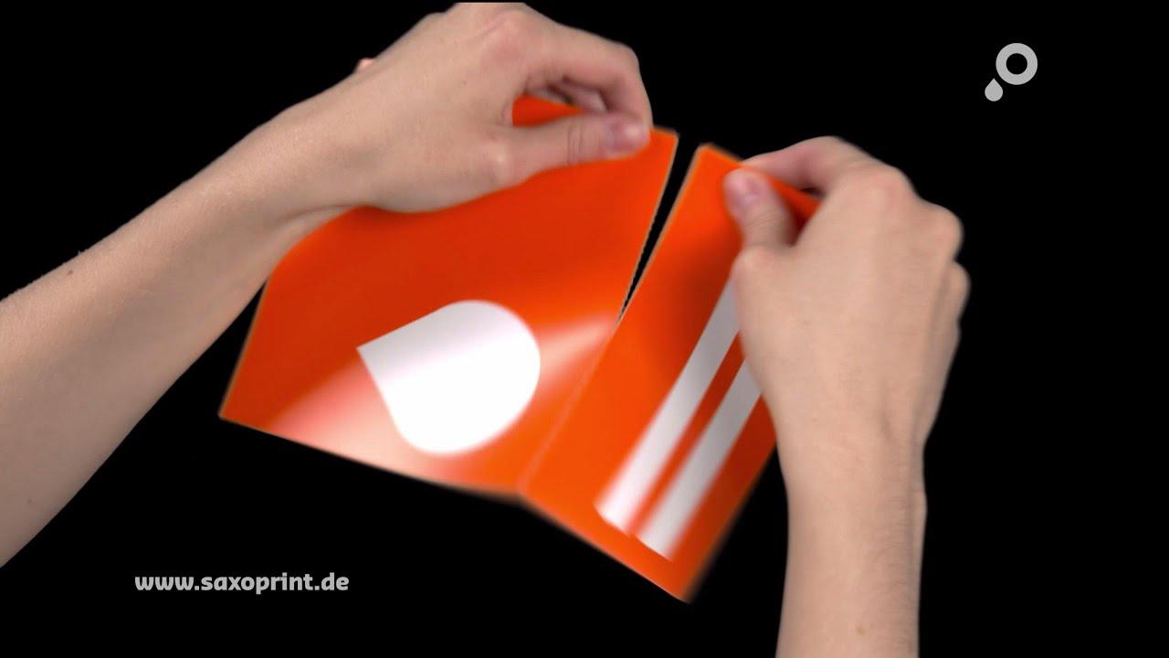 Perforationslinien Anlegen Bei Druckprodukten Saxoprint Blog