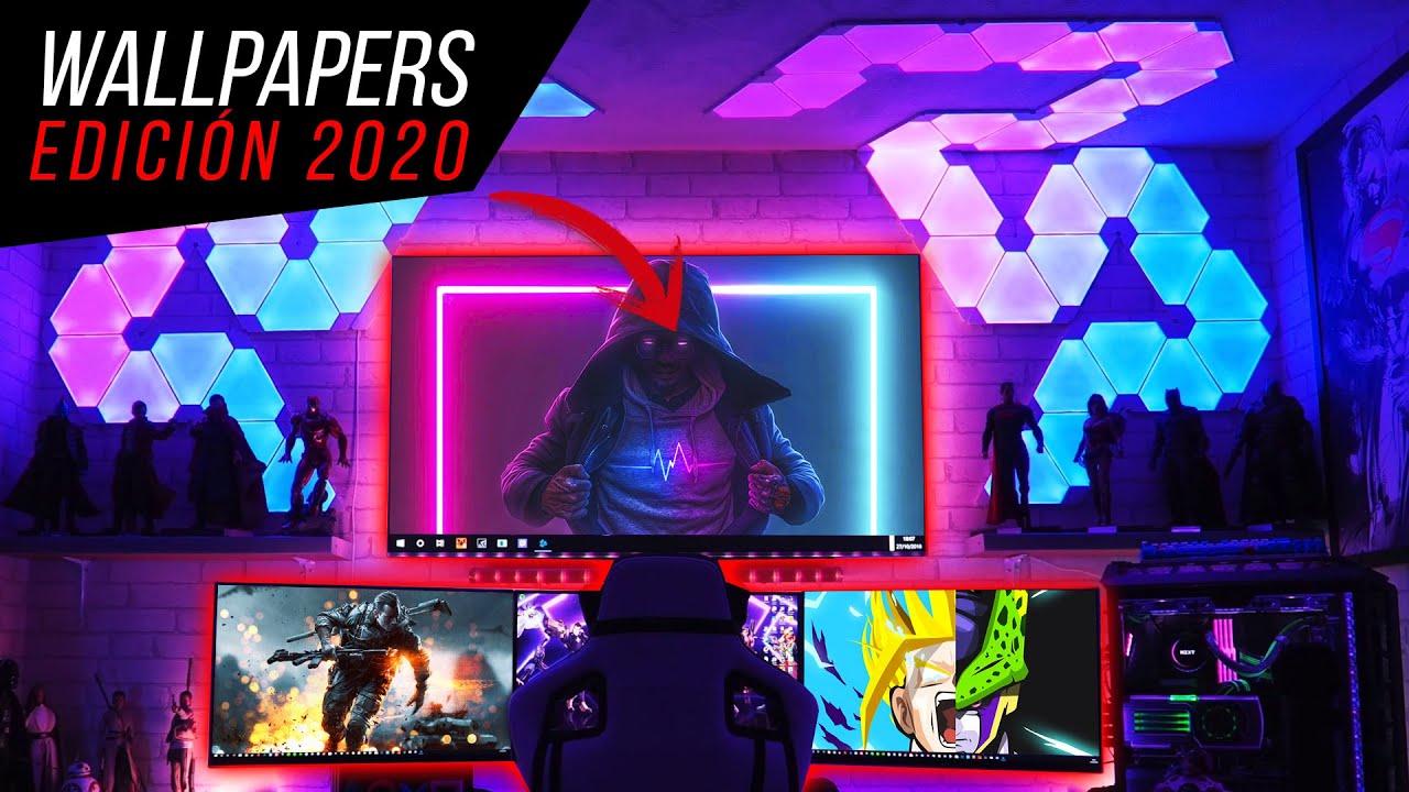 ESTOS SON LOS MEJORES WALLPAPERS PARA TU PC 2020 MINIMALISTAS ULTRAWIDE  WIDESCREEN 4K 1080P (FULLHD) - YouTube