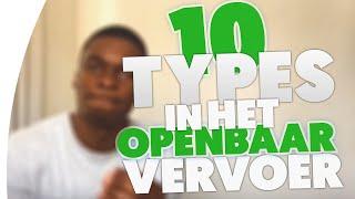 10 TYPES IN HET OPENBAAR VERVOER! #kidkidonline