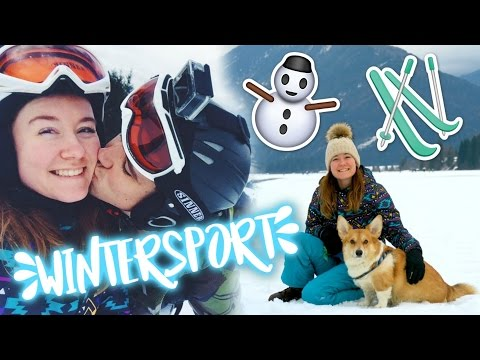 Skiing in Austria! HUGE WINTER SPORTS VLOG #1 + ENGL SUBS | felinehoi