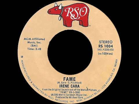 Irene Cara ~ Fame 1980 Disco Purrfection Version