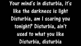 The Cab - Disturbia lyrics