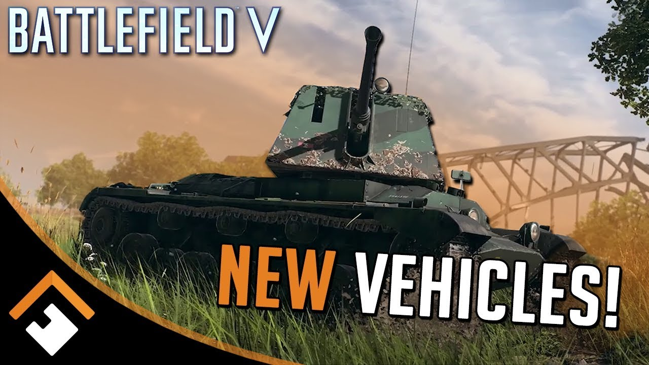 New BATTLEFIELD V Vehicles Confirmed! + Gameplay Changes and Map Details!